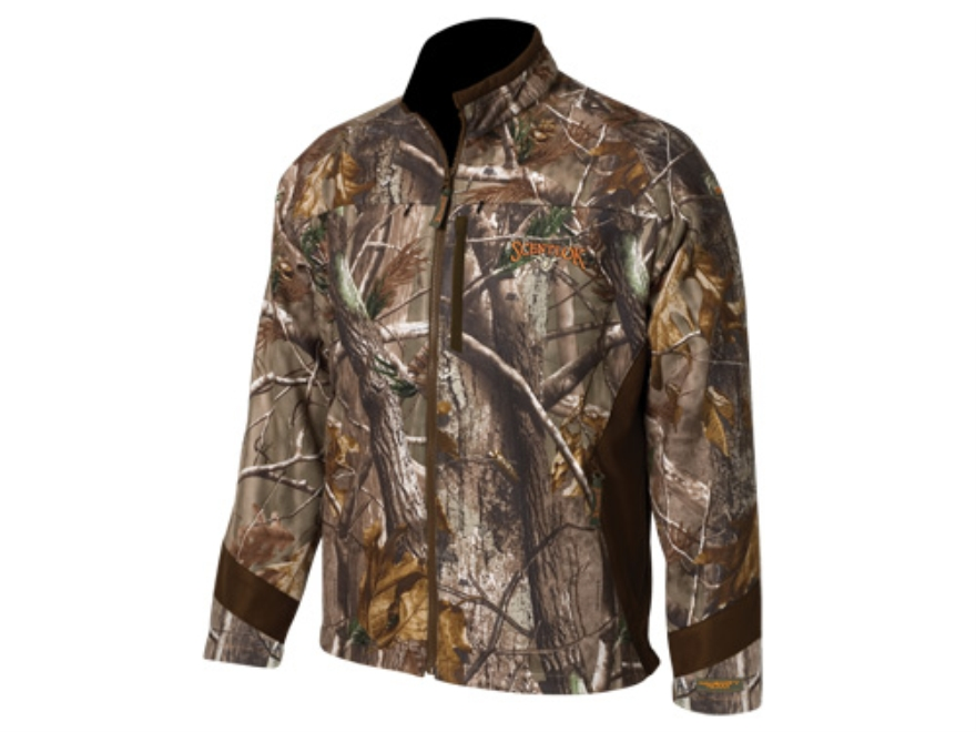 Scent-Lok Men's Full Season Velocity Jacket Polyester Realtree AP Camo Large 42-44