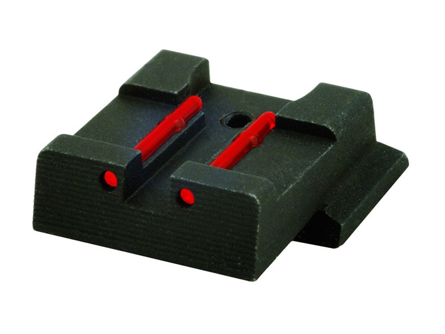 HIVIZ Rear Sight S&W M&P, M&P Compact, M&P L Steel Fiber Optic Red