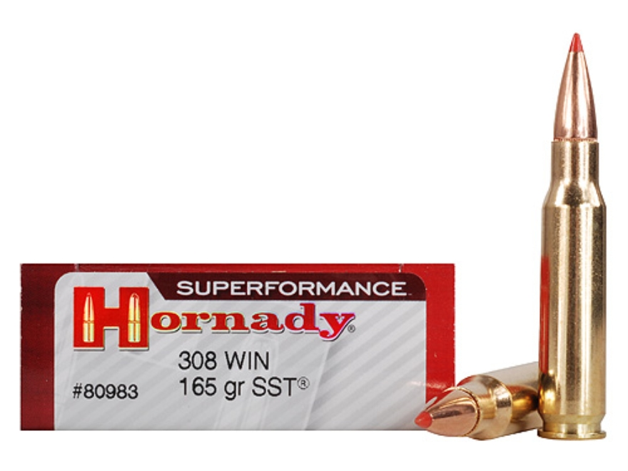 Hornady Superformance Sst Ammo 308 Winchester 165 Grain