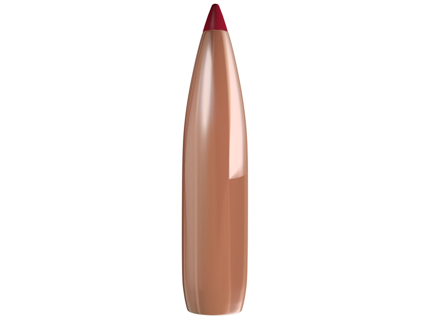Hornady ELD Match Bullets 264 Caliber, 6.5mm (264 Diameter) 120 Grain Boat Tail Box of 100