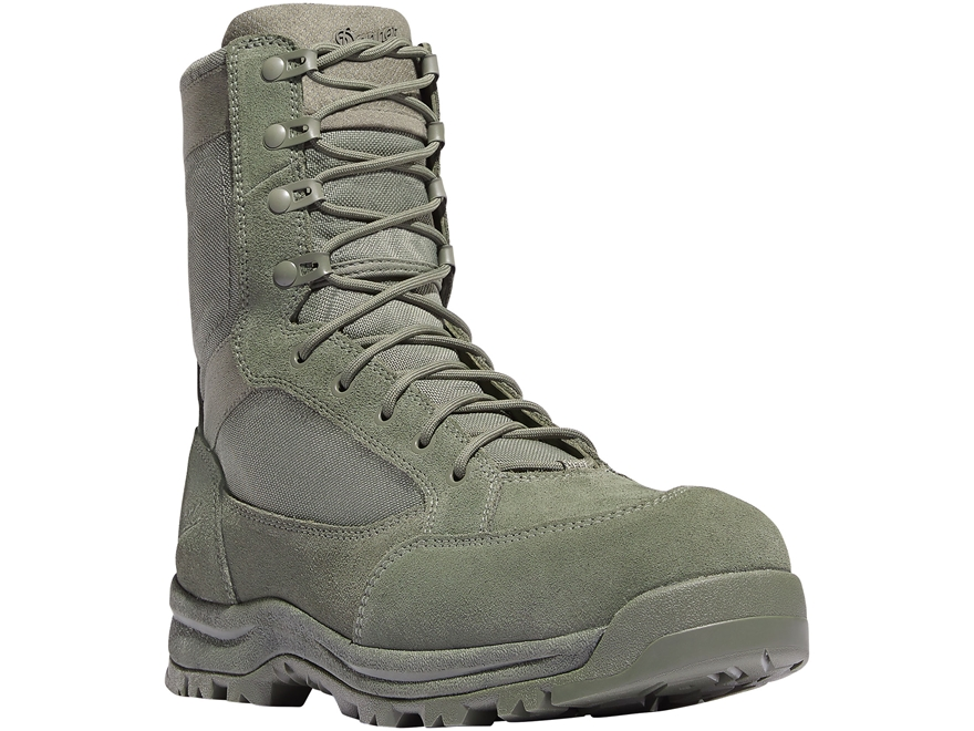 "Danner Tanicus 8"" Side-Zip Non-Metallic Safety Toe Tactical Boots Leather/Nylon Men's"