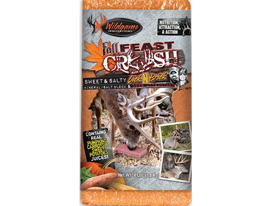 Wildgame Innovations Fall Feast Crush Deer Attractant Block 4 lb