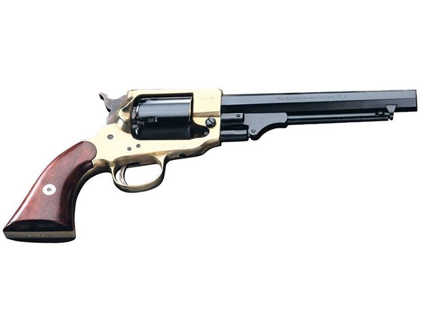 "Pietta Spiller and Burr Black Powder Revolver 36 Caliber 6.5"" Barrel Brass Frame Blue"