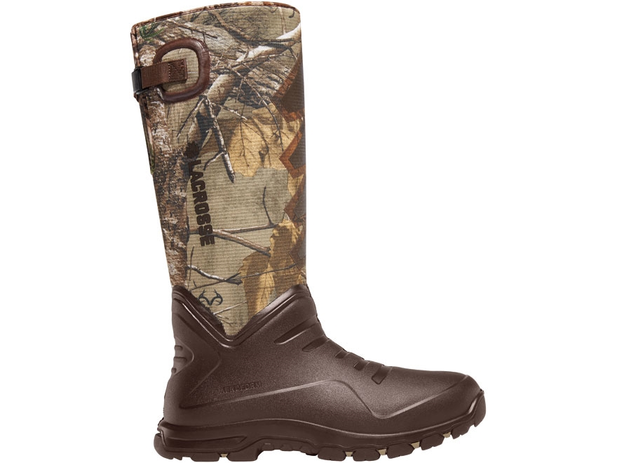"LaCrosse 7mm Aerohead Sport 16"" Waterproof Insulated Hunting Boots Polyurethane Clad Ne..."