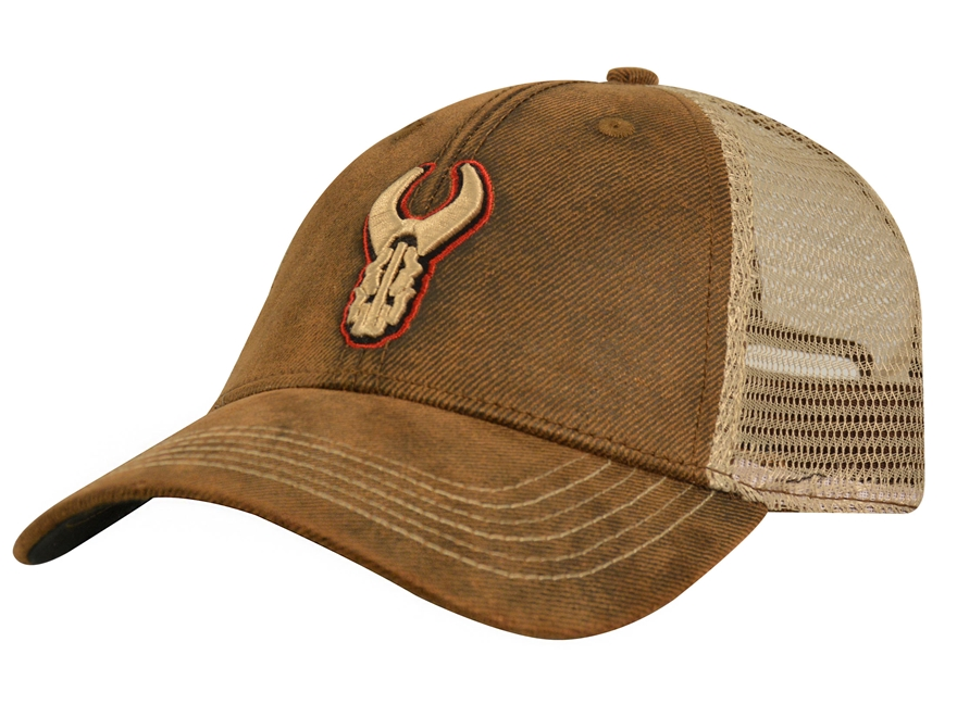 Badlands Distressed Logo Cap Polyester Brown