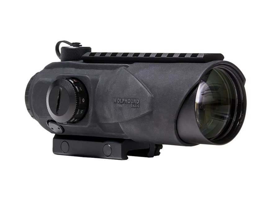 Sightmark Wolfhound Prism Sight 6x 44mm Red/Green HS-223 Reticle with Picatinny Mount M...