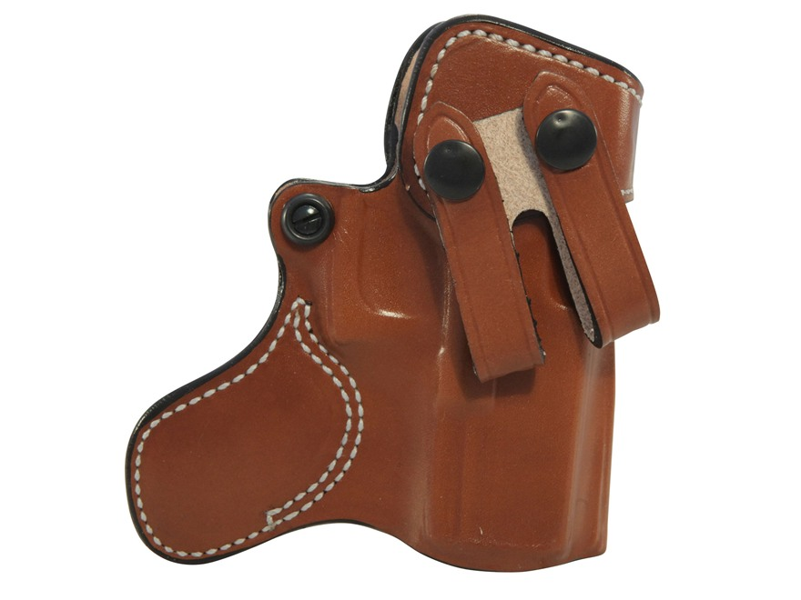 DeSantis Inner Piece Inside the Waistband Holster Leather Tan
