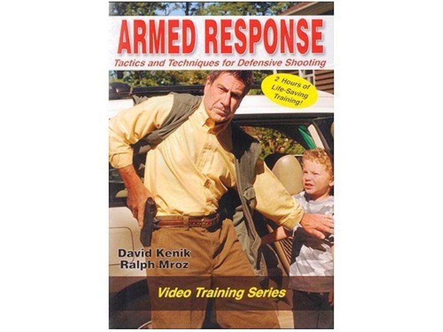 """David Kenik Video """"Armed Response: Tactics & Techniques for Defensive Shooting"""" DVD"""