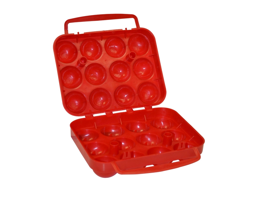 Coleman 12-Count Egg Container Polymer Red