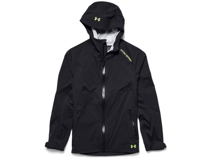 under armour puffer jacket. under armour women\u0027s stretch rain jacket nylon black small puffer u