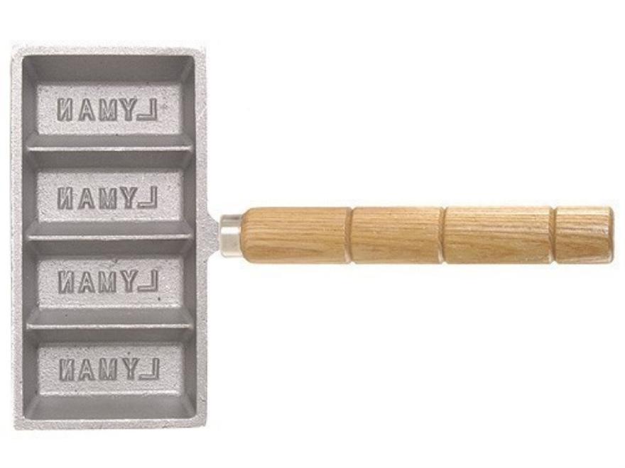 Lyman 4-Cavity Ingot Mold with Handle
