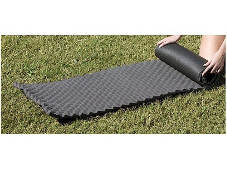 "Texsport Dual Foam Sleeping Pad 72"" x 20"" x 1-1/4"""" Foam Black"