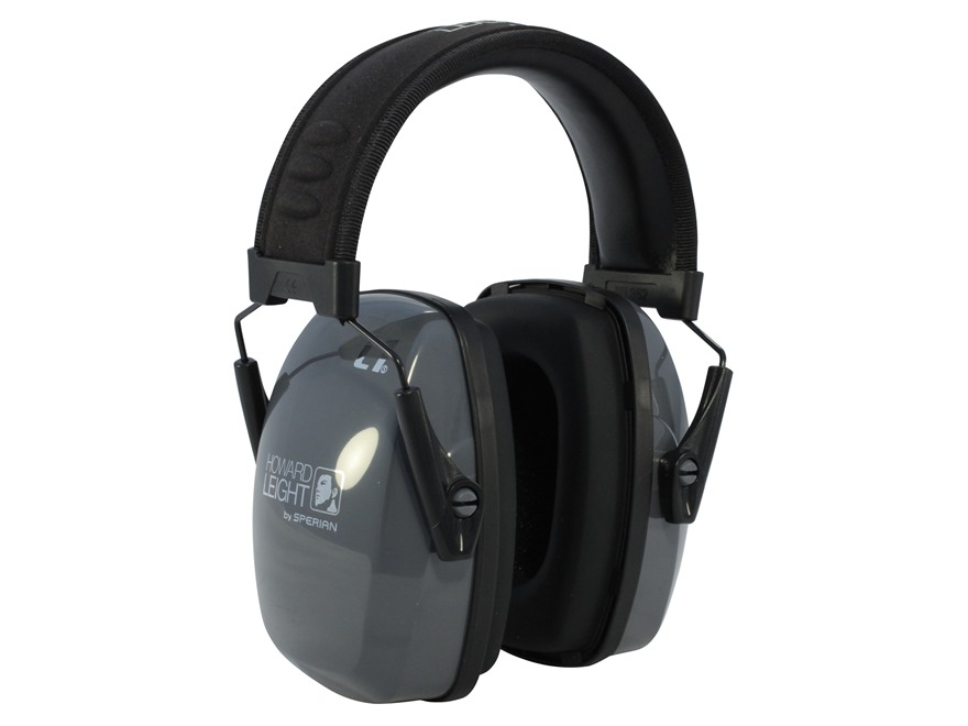 Howard Leight Leightning L1 Slimline Earmuffs (NRR 25 dB) Gray