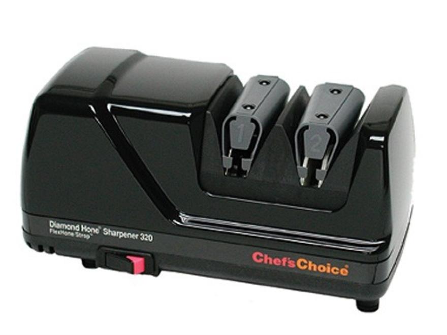 Chef's Choice FlexHone/Strop Electric Knife Sharpener #320 Black
