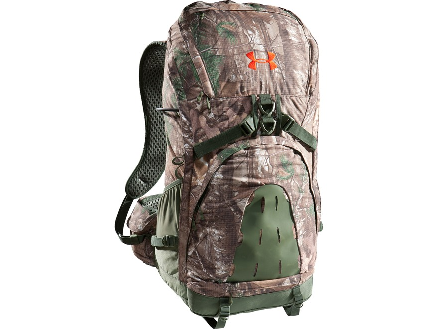 Under Armour Ridge Reaper 2800 Backpack Polyester and Nylon Ripstop Realtree Xtra Camo