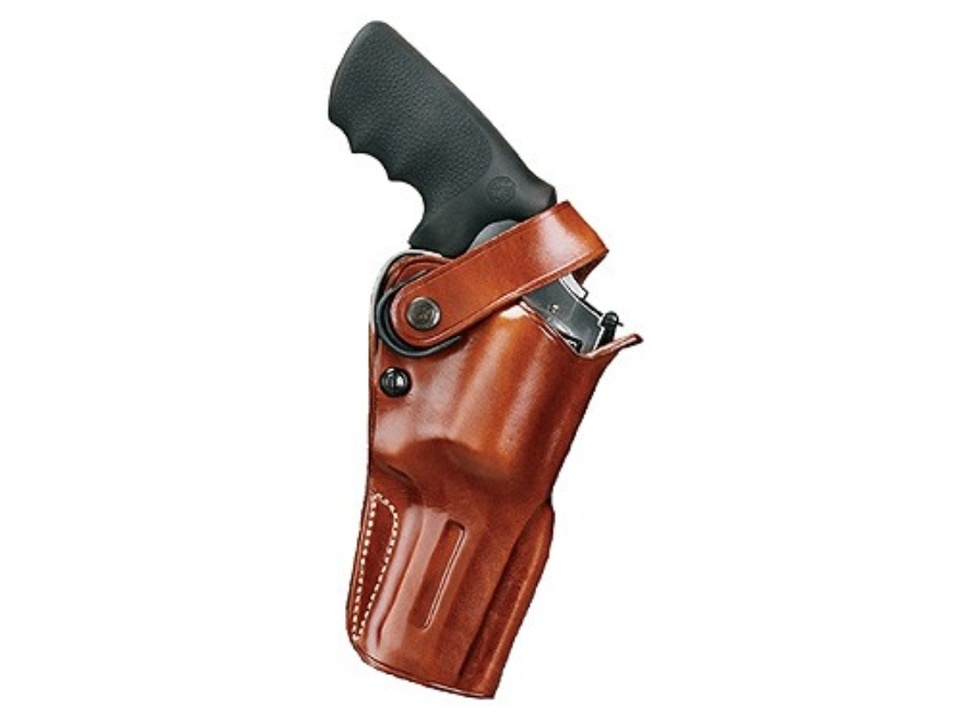 "Galco D.A.O. Dual Action Outdoorsman Belt Holster Right Hand 2 3/4"" S&W X Frame Leather..."