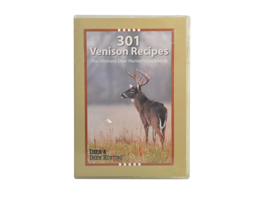 """""""301 Venison Recipes from the Readers of Deer and Deer Hunting Magazine"""" CD-ROM"""