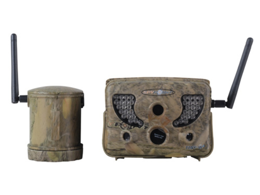 Spypoint Tiny-W2 Wireless Infrared Game Camera 8.0 Megapixel Spypoint Dark Forest Camo