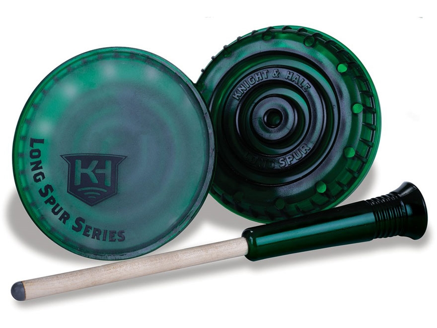 Knight & Hale Long Spur Glass Turkey Call