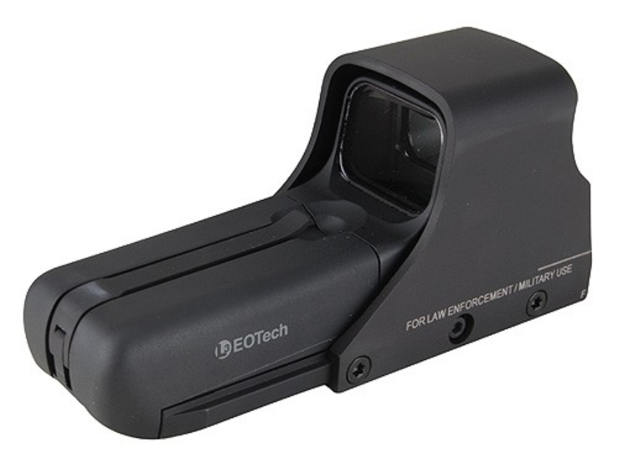 EOTech 552 Holographic Weapon Sight 50 BMG Ballistic Reticle Matte AA Battery