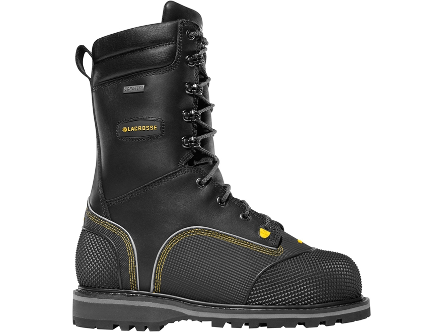 "LaCrosse Longwall II 10"" Waterproof 200 Gram Insulated Non-Metallic Safety Toe Work Boo..."