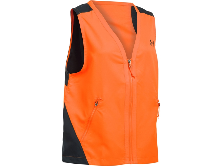Under Armour Women's UA Blaze Orange Safety Vest Polyester Blaze Orange