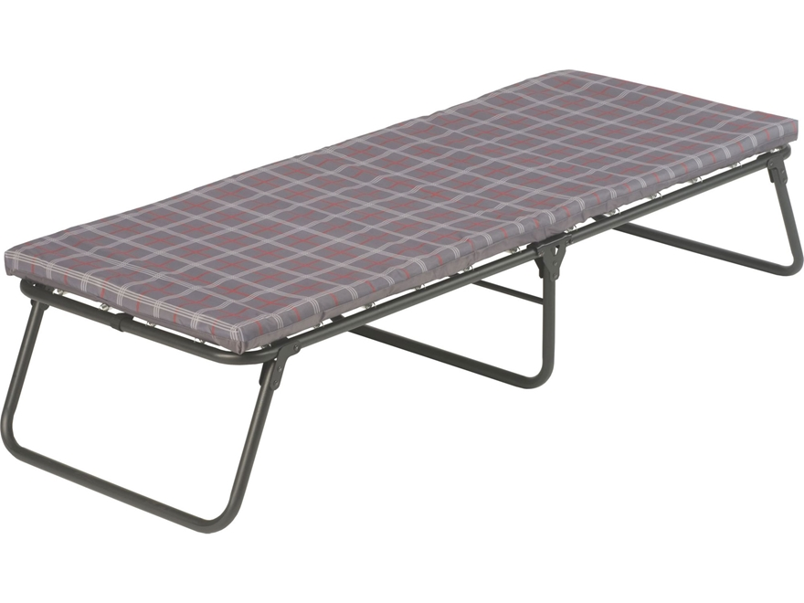 Coleman ComfortSmart Camp Cot Polyester and Steel Plaid