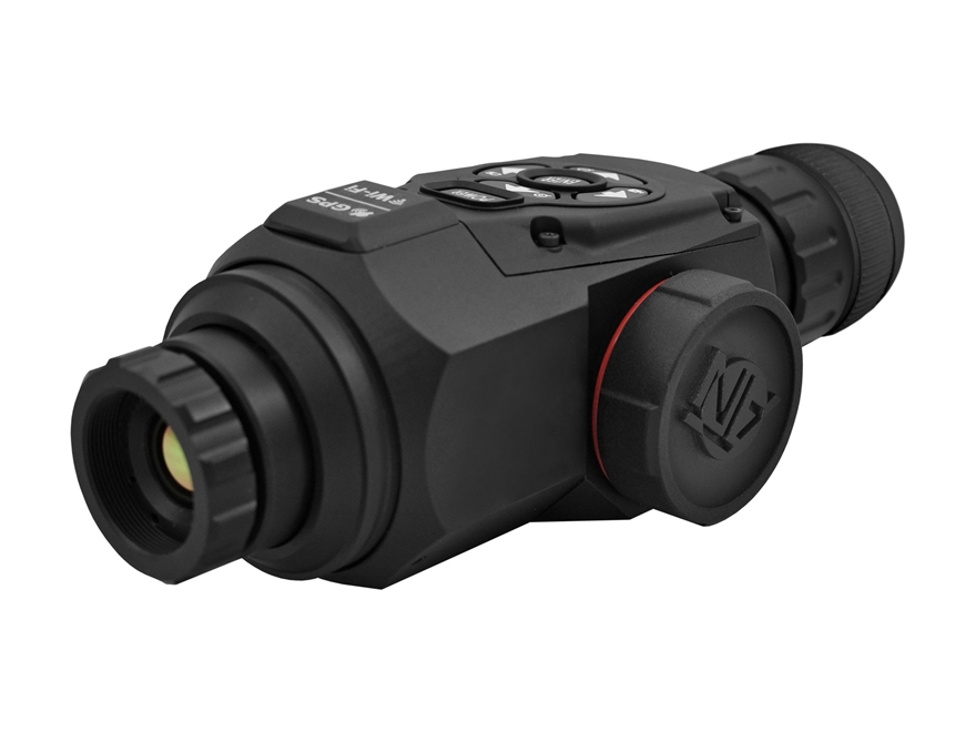ATN OTS HD Thermal Monocular 1.25-5x 19mm 384x288 with HD Video Recording, Wi-Fi, GPS, ...
