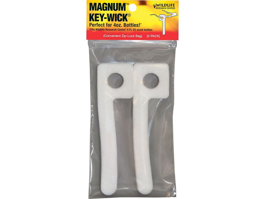 Wildlife Research Center Magnum Key Scent Wick Cotton Pack of 2