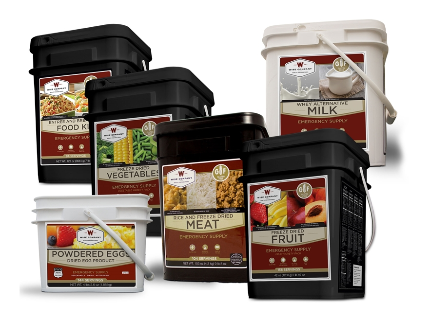 Wise Food 1 Month Gluten Free Premiere Freeze Dried Food Kit