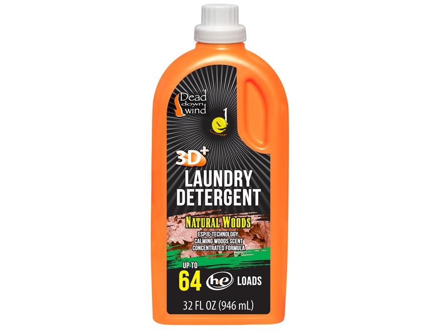 Dead Down Wind e1 ESP Scent Elimination Laundry Detergent Liquid Natural Woods Scent 32 oz