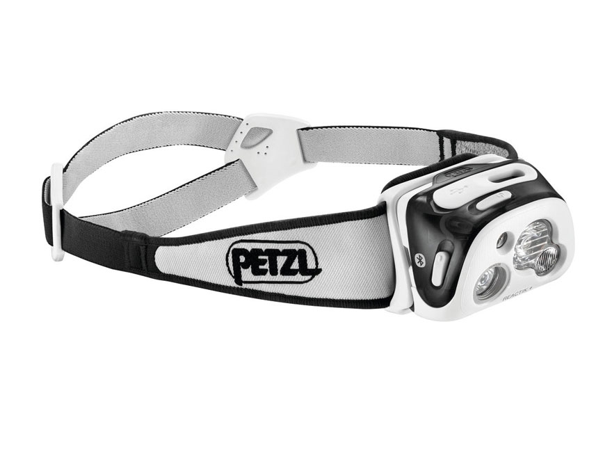 Petzl Reactik + Reactive Lighting Bluetooth Headlamp LED with Rechargeable Li-Ion Batte...