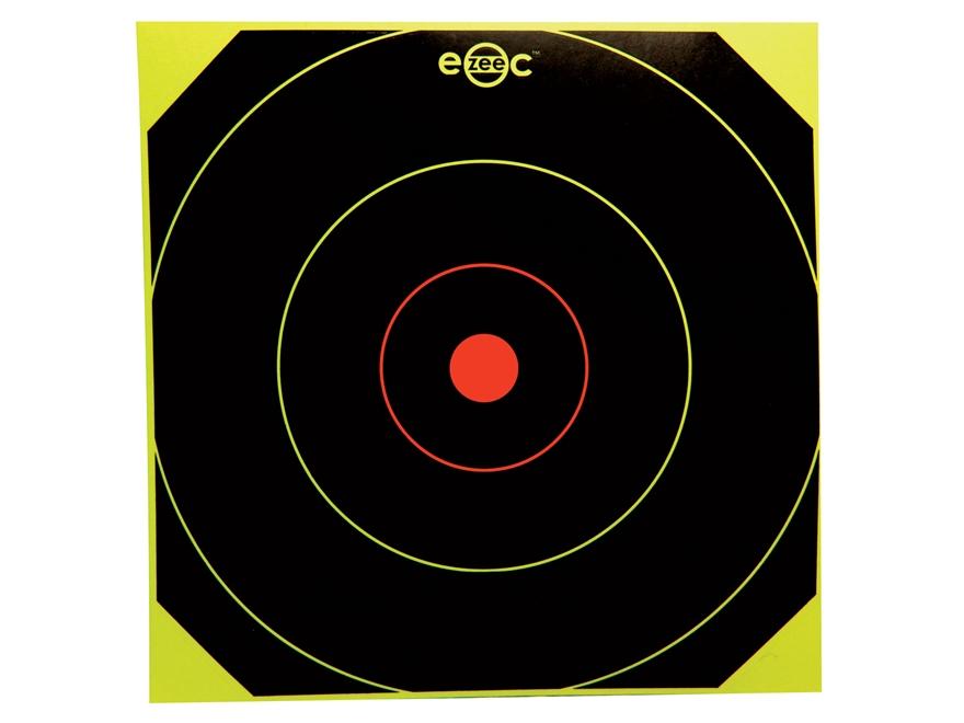 E-ZEE-C Self-Adhesive Black/Yellow Bullseye Target