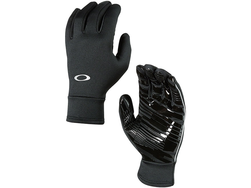 Oakley Midweight Fleece Gloves O-Hydrolix Black Small/Medium