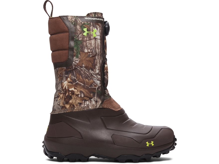"Under Armour UA Ridge Reaper Pac 14"" 1200 Gram Insulated Waterproof Hunting Boots Synth..."