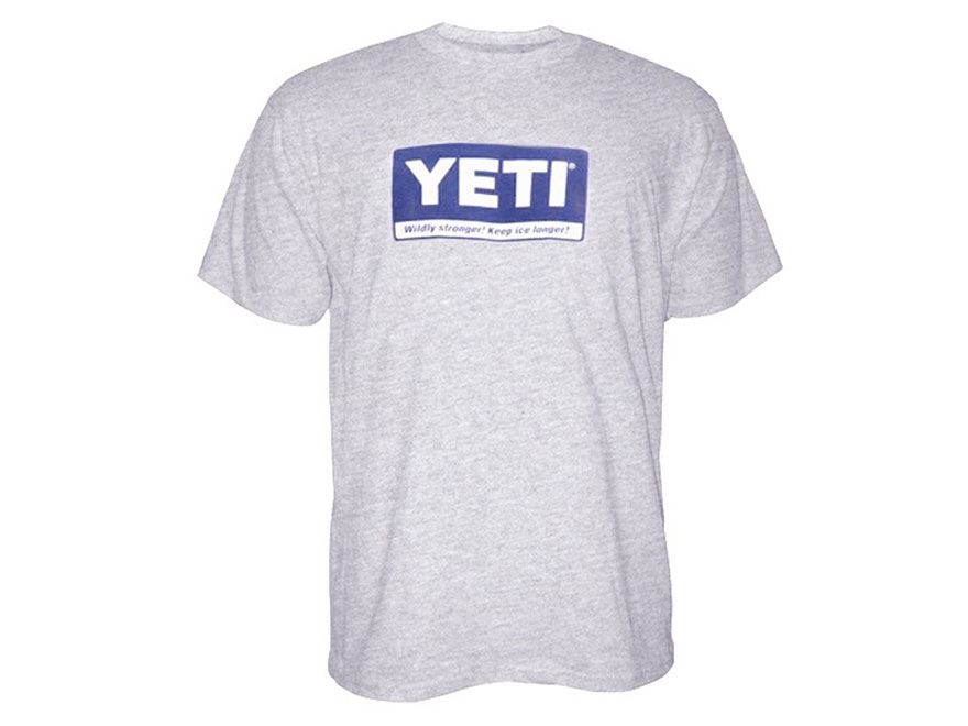 YETI Men's Billboard T-Shirt Short Sleeve Cotton and Polyester