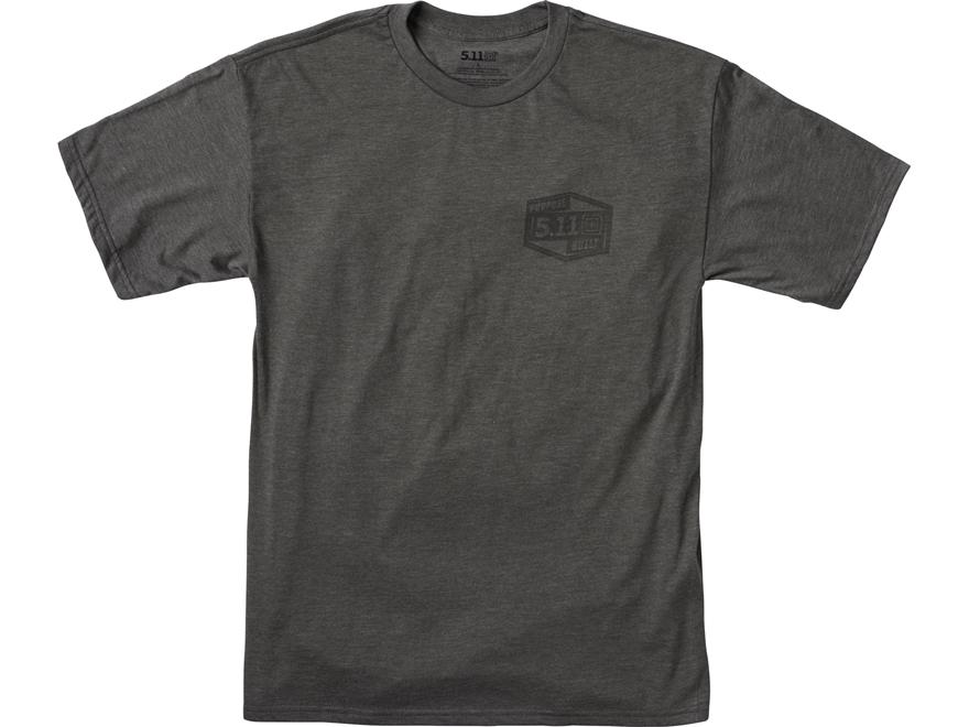 5.11 Men's Purpose Built T-Shirt Short Sleeve Polyester/Cotton Blend