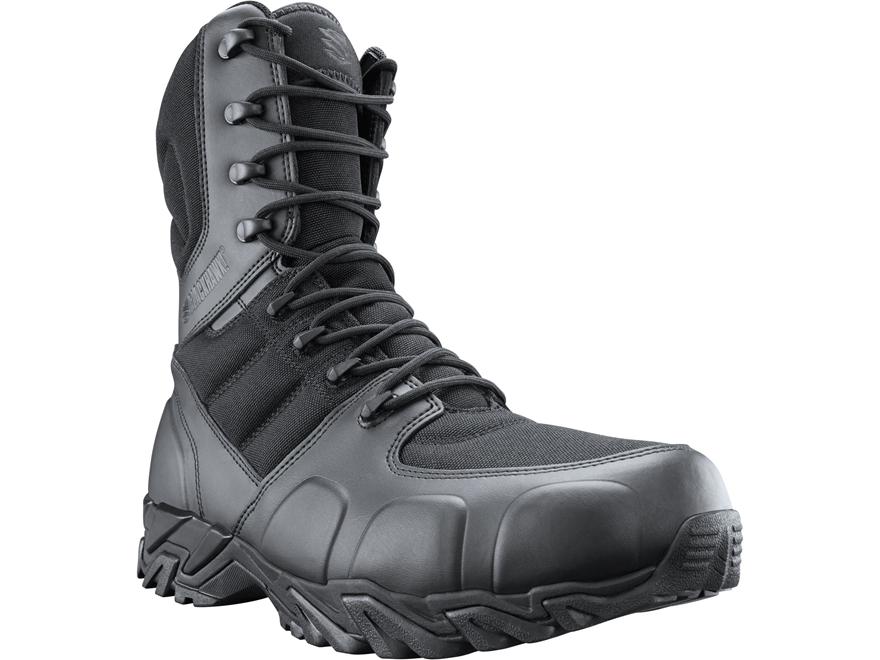 "BLACKHAWK! Street 8"" Side Zip Tactical Boots Leather/Nylon"