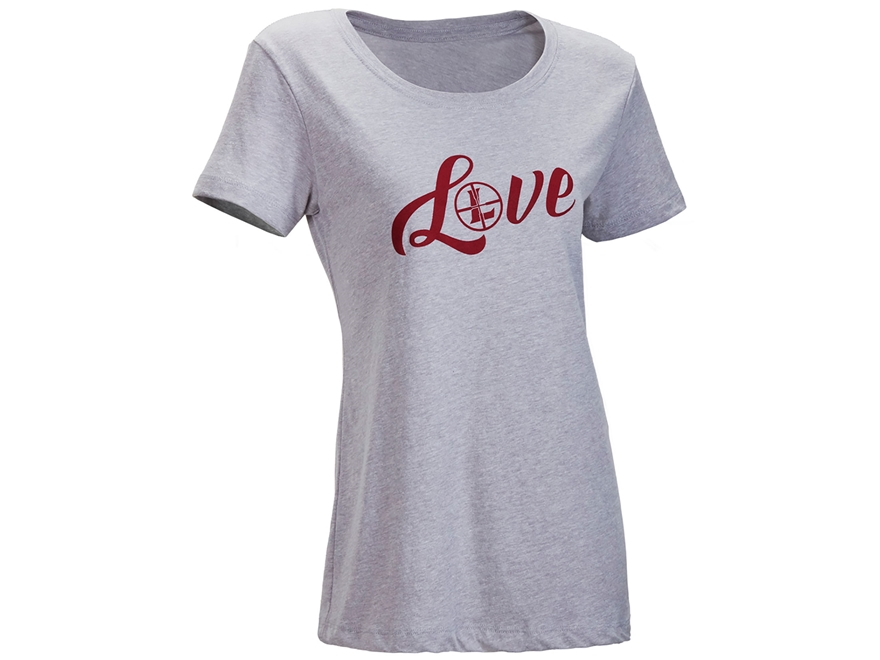 Leupold Women's Love Scoop Neck T-Shirt Short Sleeve Cotton/Poly
