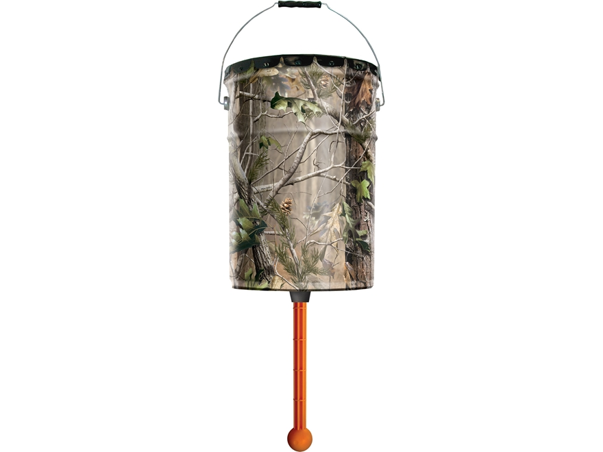 Wildgame Innovations The Nudge Game Feeder 6.5 Gallon Realtree Xtra Camo