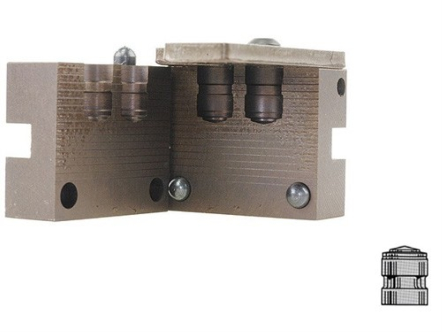 Saeco 2-Cavity Bullet Mold #944 44 Special, 44 Remington Magnum (430 Diameter) 200 Grai...