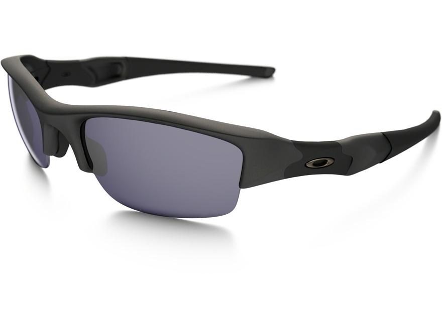 Oakley SI Flak Jacket Sunglasses Matte Black Frame/Grey Lens