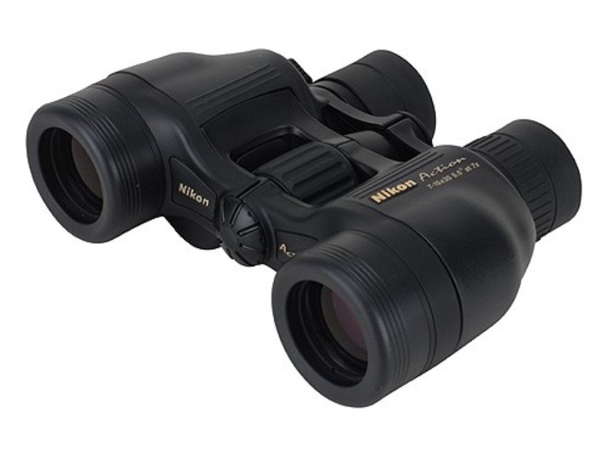 Nikon Action Zoom Binocular 7-15x 35mm Porro Prism Black