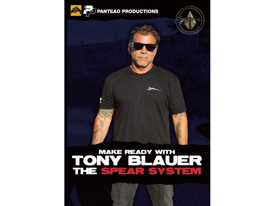"""Panteao """"Make Ready with Tony Blauer: The SPEAR System"""" DVD"""