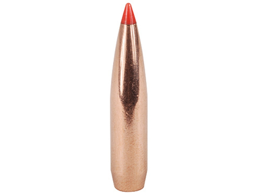 Hornady InterBond Bullets 264 Caliber, 6.5mm (264 Diameter) 129 Grain Bonded Boat Tail ...