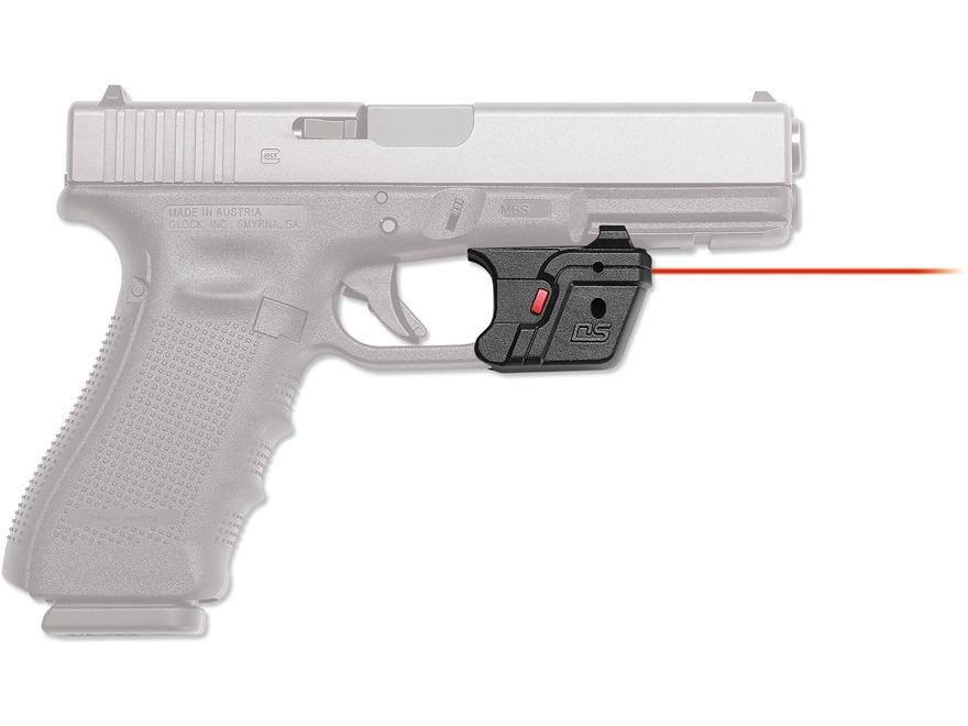 Crimson Trace Defender Series Accu-Guard Laser Polymer Black