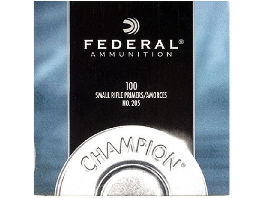 Federal Small Rifle Primers #205