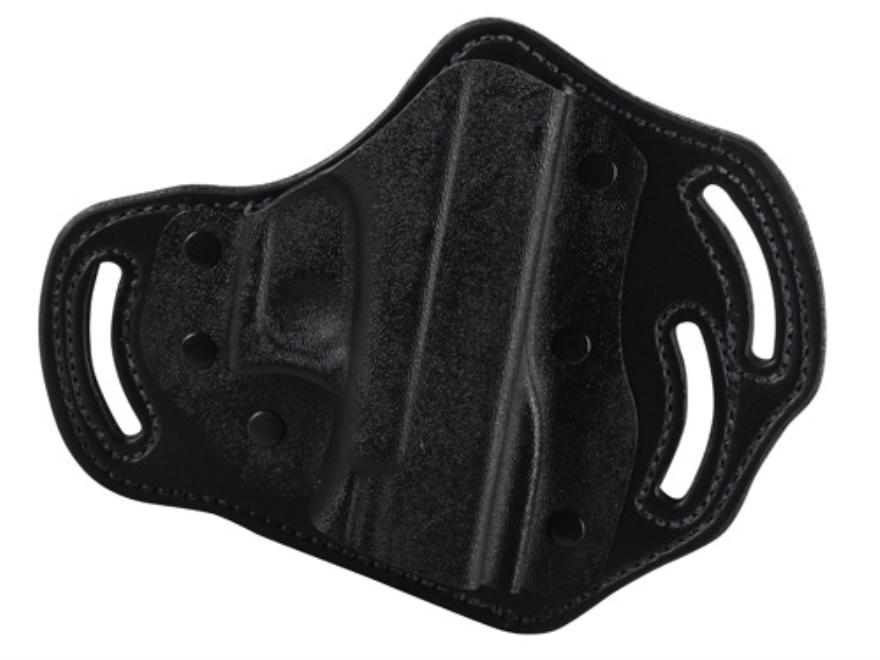 DeSantis Intimidator Belt Holster Right Hand Glock 17, 19, 22, 23 Kydex and Leather Black