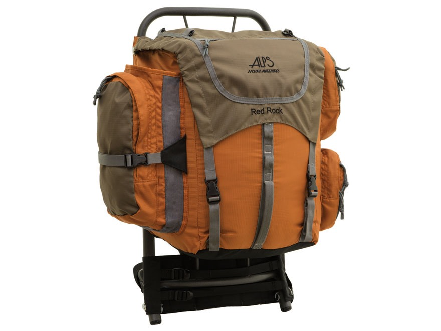 ALPS Mountaineering Red Rock Frame Backpack Aluminum Polyester Ripstop