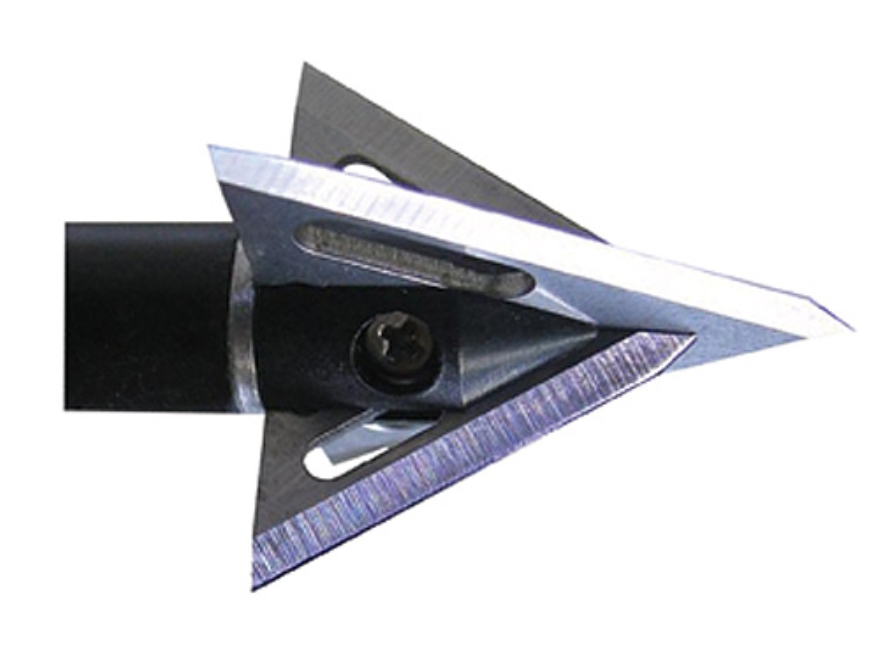 Slick Trick RAZORTRICK Fixed Blade Broadhead 100 Grain Stainless Steel Pack of 3